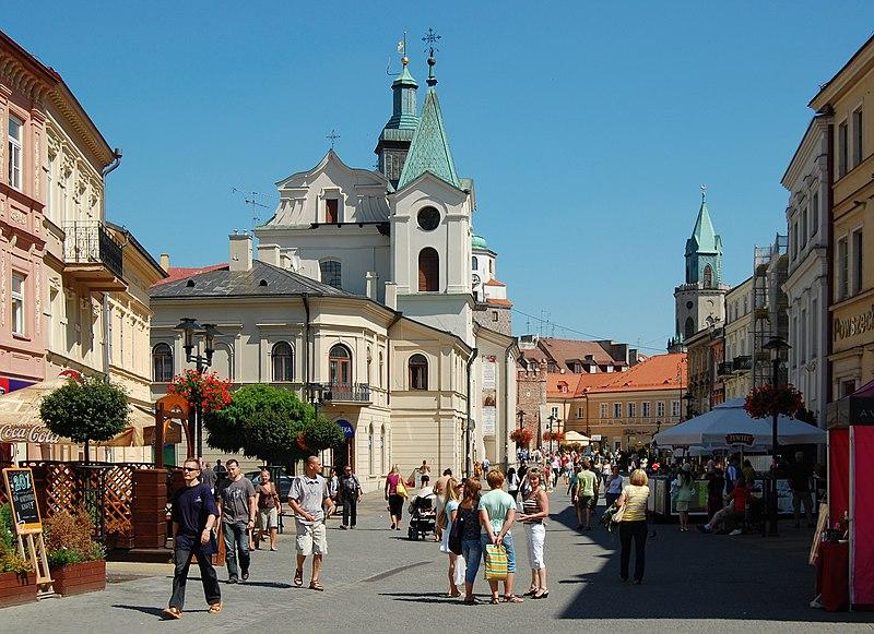 File:Lublin Krakowskie Przedmieście 2009.jpg