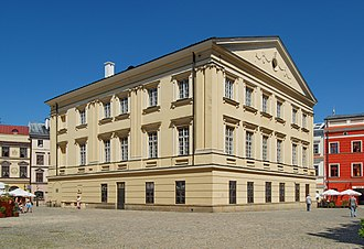Crown Tribunal - Building of the Crown Tribunal in Lublin