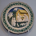 Luca della Robbia (workshop) Adoration of the shepherds VA 7752-1862.jpg