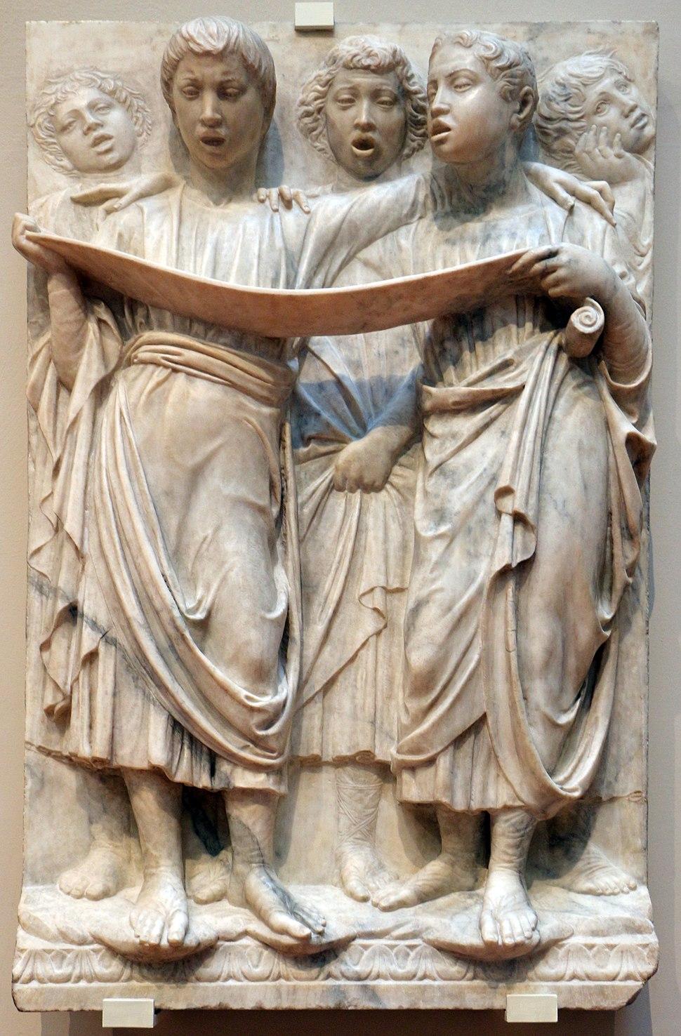 Luca della robbia, formelle, 1431-38, 02