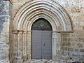 Lussas-et-Nontronneau Lussas église portail.JPG