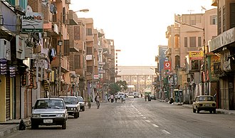 Luxor - Streets of Luxor in 2004