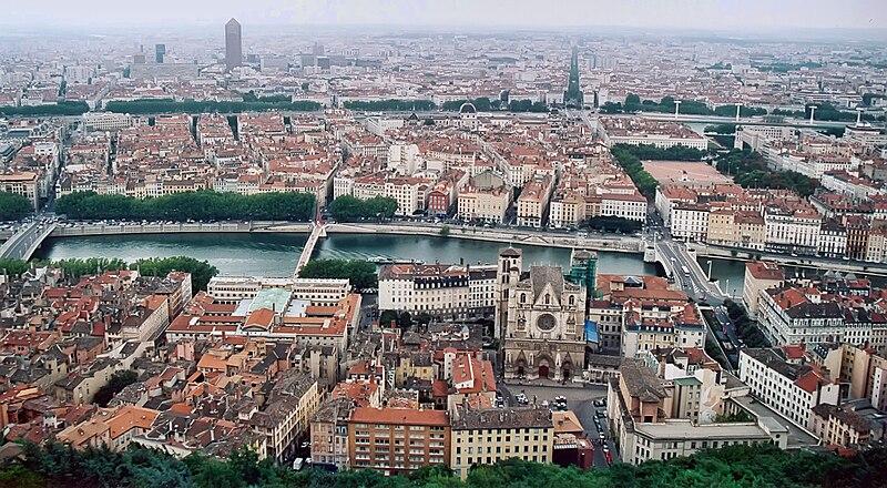 Fichier:Lyon vue depuis fourviere.jpg