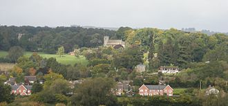Lyonshall - Image: Lyonshall Village View