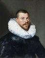 Målning. Porträtt av medelålders man. Paulus Moreelse - Hallwylska museet - 86744.tif