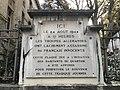 Mémorial du 24 août 1944 rue Tronchet à Lyon.JPG