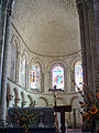 Mézin - Eglise Saint-Jean-Baptiste - Abside roman.JPG