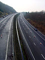 M5 - Split Level section between J19 and J20 - geograph.org.uk - 110510.jpg