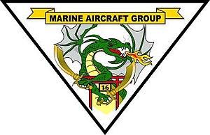 Marine Aircraft Group 16 - Image: MAG 16 insignia
