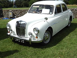 Pressed Steel Company - MG Magnette ZA