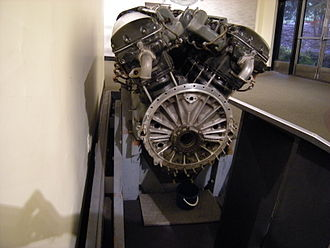 Water speed record - The Allison V-1710 aircraft engine that powered Slo-Mo-Shun IV.