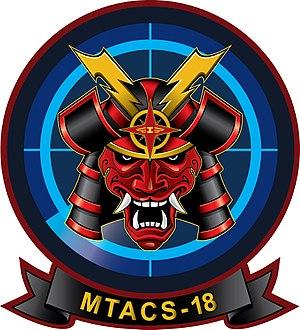 Marine Tactical Air Command Squadron 18 - MTACS-18 Insignia