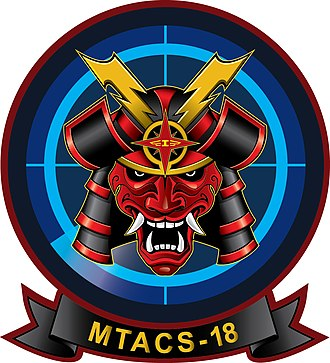 Marine Tactical Air Command Squadron 18 - MTACS-18 Insignia