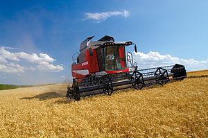 Laverda (harvesters) - Image: M 410 combine