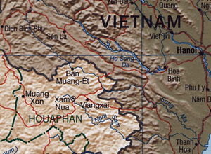 Nam Sam River - Nam Sam River on map