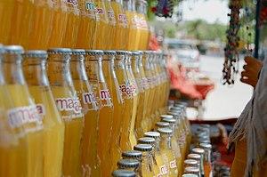 Maaza - Maaza bottles