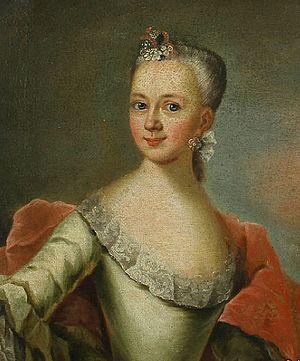 Else Hansen - Painting of Madam Hansen by Jens Thrane