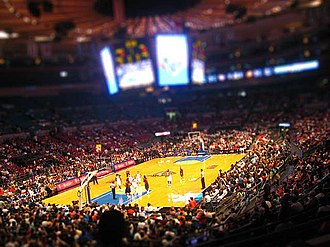 New York Liberty - Madison Square Garden during a Liberty game.