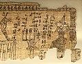 Maec, sezione egizia, libro dei morti di peteminis, II secolo dc. 05.jpg
