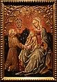 Maestro delle anconette ferraresi, madonna col bambino e san bernardino da siena, 1465-70 circa.JPG
