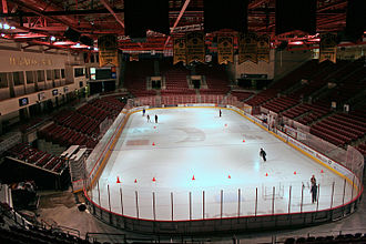 Battle for the Gold Pan - Magness Arena, home of the University of Denver Pioneers
