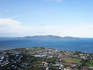Magnetic Island - The View of Magnetic Island from the Castle Hill, Townsville