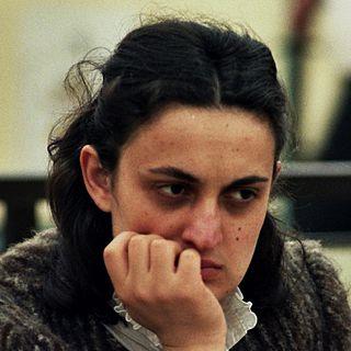 Maia Chiburdanidze Georgian chess player