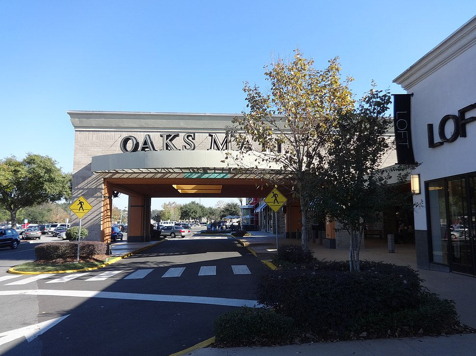 Main entrance (West face), The Oaks Mall