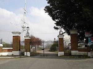 Shotley Peninsula - Main entrance to H.M.S. Ganges – geograph.org.uk – 1247889