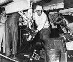 Maintenance on a A-4C Skyhawk of VMA-223 on USS Yorktown (CVS-10) c1965.jpg
