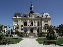 The town hall of Tarbes