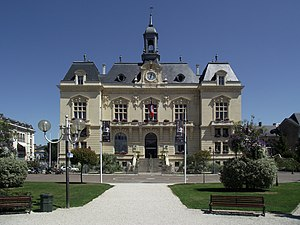 Tarbes - The town hall of Tarbes