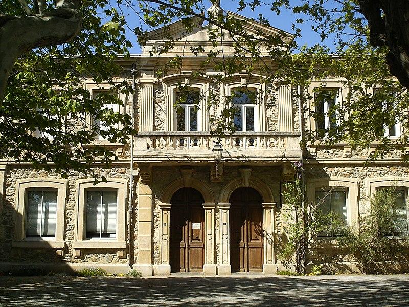 La Mairie et l'École de Pouzols-Minervois