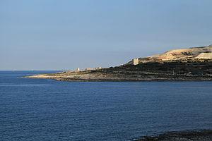 De Redin towers - Image: Malta Naxxar Ras il Ghallis+Maghtab Landfill (Ras il Qawra) 02 ies