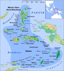 Google Map Indonesian Islands