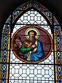 Mametz (Pas-de-Calais, Fr), église de Crecques, vitrail 03.JPG