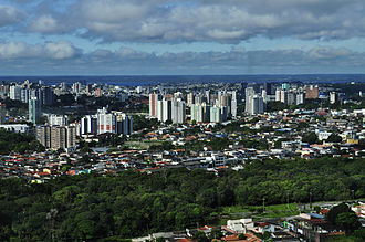 North Region, Brazil - Manaus is the most populous city of the North region.