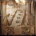 Manif. di bruxelles, arazzi della battaglia di lepanto, battaglie su dis. di lazzaro calvi e figure di luca cambiaso, 1591, 06.JPG