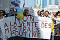 Manifestation No Mistrals For Putin Saint Nazaire 20140907 Volodymyr Tkachenko - 2.jpg