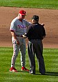 Manuel argues with umpire.jpg