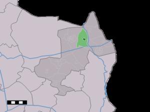 Tilligte - Image: Map NL Dinkelland Tilligte