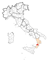 Map Province of Vibo Valentia.svg