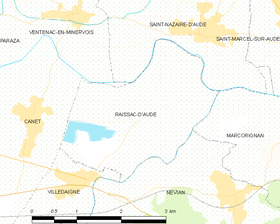 Map commune FR insee code 11307.png
