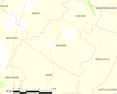 Map commune FR insee code 32247.png