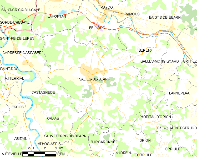 tóng-àn:Map commune FR insee code 64499.png