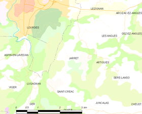 Map commune FR insee code 65233.png