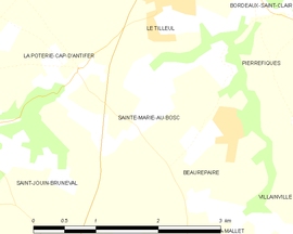 Map commune FR insee code 76609.png