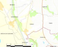 Canals tarn y garona wikipedia la enciclopedia libre for Code postal grisolles