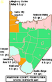 Map of Armstrong County Pennsylvania School Districts.png
