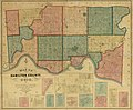 Map of Hamilton County, Ohio - exhibiting the various divisions and sub divisions of land with the name of the owners & number of acres in each tract together with the roads, canals, streams, towns LOC 2012591124.jpg